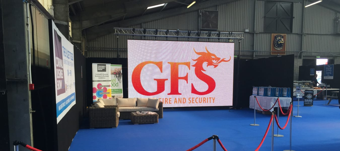 LED Screen Hire Business Shows