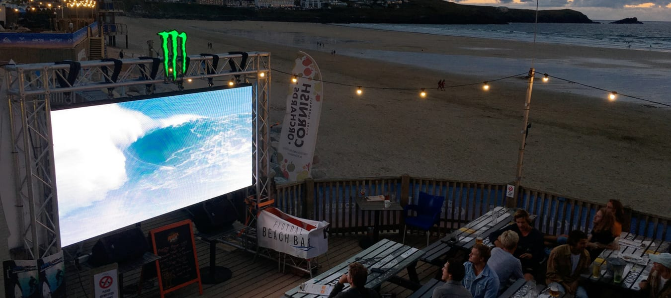 Monster Energy LED Screen Newquay
