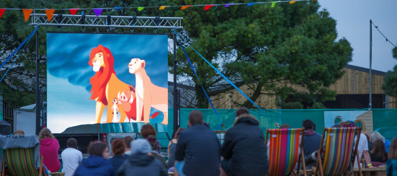 Field Good Festival LED Screen Hire